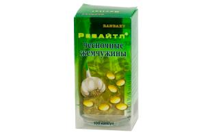 Ревайтл Чесночные жемчужины – натуральные капсулы от высокого холестерина