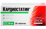 Кардиостатин: инструкция по применению, аналоги, предостережения, отзывы