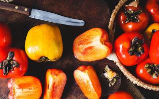 Употребление хурмы при высоком уровне холестерина