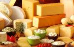 Содержание холестерина в разных сортах сыра