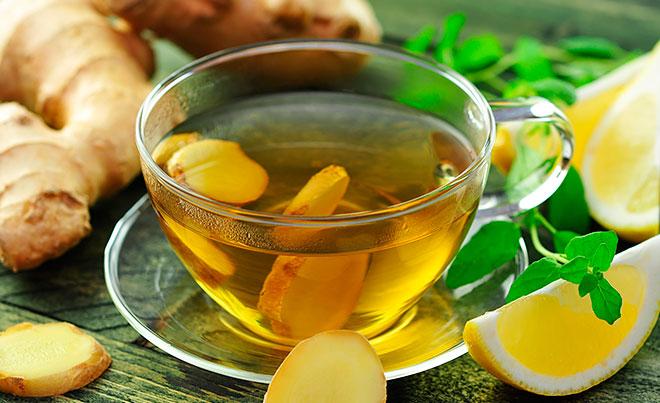 Имбирный чай от холестерина