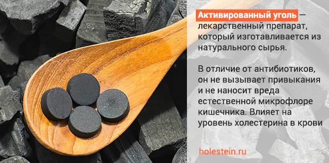 Влияние активированного угля на холестерин