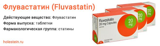 Препарат Флувастатин