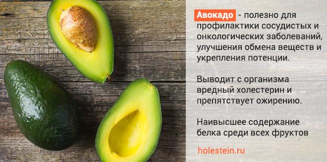 Авокадо и холестерин - как выбрать и употреблять авокадо