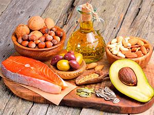 Полезные жиры в продуктах