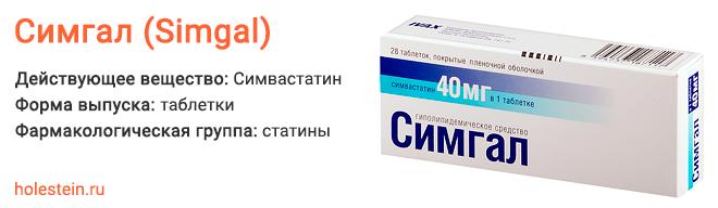 Препарат Симгал