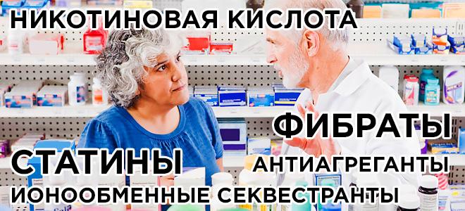 Медикаменты от атеросклероза мозга
