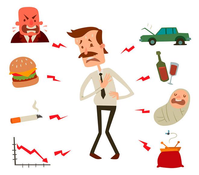 Факторы риска развития заболеваний сосудов