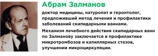 Методы Залманова для чистки сосудов