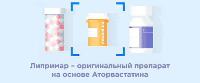 Липримар - оригинал аторвастатина